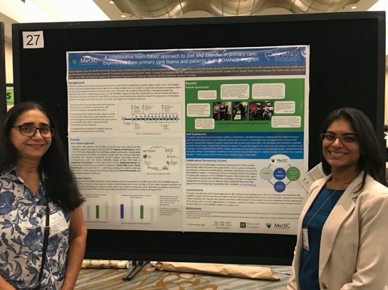 Dieticians present poster at AFHTO